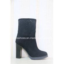 Exportar Moda Saltos altos Sexy Women Warm Boots