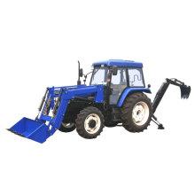 Mini tracteur avec l'outil