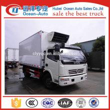 5ton dongfeng camión frigorífico, camión frigorífico para la venta en china