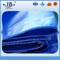 Flame Retardant Tarpaulin Blue Color Vinyl Tarps