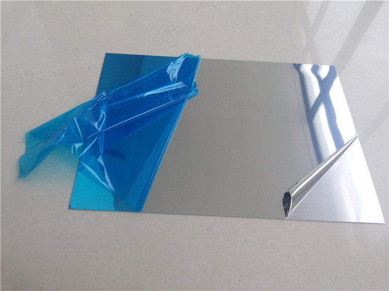 polished aluminum sheet metal