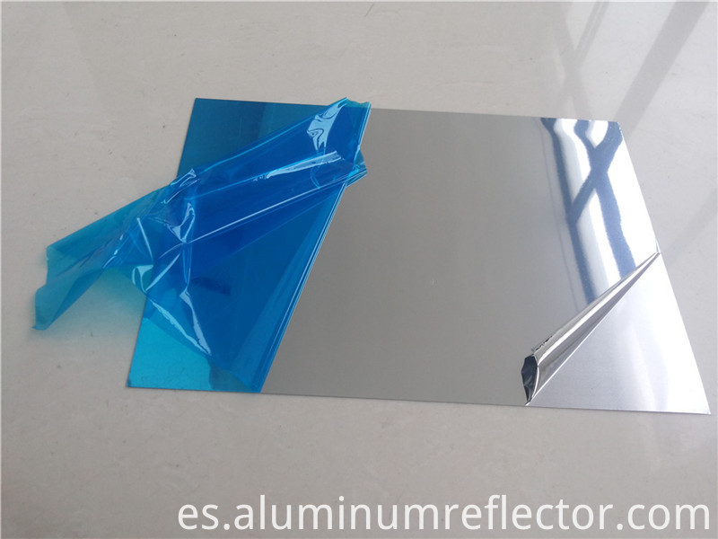 polishing aluminum mirror