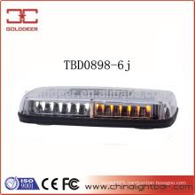 Low Profile Gen-3 Amber Warning LED Mini Lightbar (TBD0898-6j)
