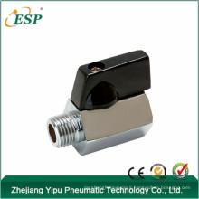"""esp nickel plated brass 1/8"""" npt valve"""