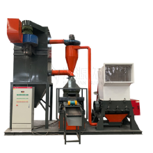 Scrap electric cable copper wire crushing recycling machine