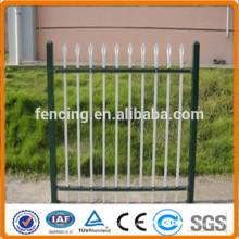 Stahl Palisade Zäune mit D Abschnitt Pales