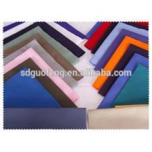 Tissu de teinture uni en coton spandex