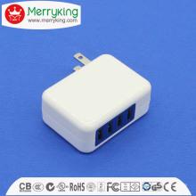 5V4.8A Adaptateur USB 4 USB Adaptateur USB 10W pour nous Fiche UL FCC DOE VI