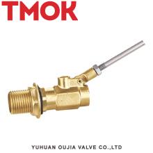 válvula de flutuador de cisterna de tanque de água de bronze