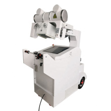 Mobile medical x ray machine for chest examination