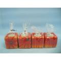 Pumpkin Candlestick Shape Ceramic Crafts (LOE2366-D5z)
