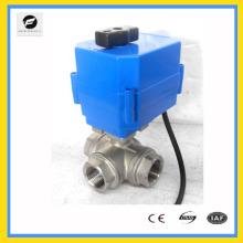 CTF-001 Válvula de esfera motorizada plástica de 2 vias para controle automático, tratamento de água