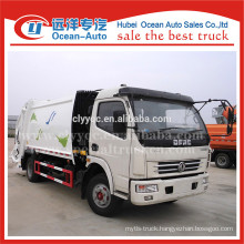2015 new fuel saving DFAC condition rubbish truck compactor