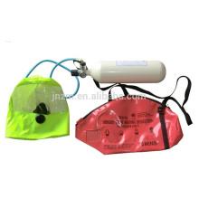 2.2 / 3L THDF EEBD Dispositivo de respiración de escape de emergencia con cilindro de fibra de carbono