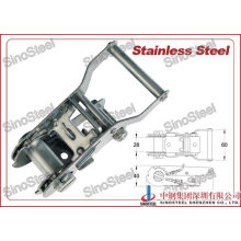 """1""""-25mm Stainless Steel Ratchet Strap Buckle/Tie Down Strap Buckle"""