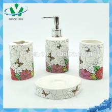 Frühling Bunte Keramik-Badezimmer-Einheiten für Dekor