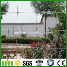 Prix d'usine Terrain de prairie clôture de galvanisation charnière galvanisée clôture de roulement pour chevreuil bovin mouton