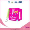 Wholesale mini / régulier / super / super plus des tampons compacts organiques pour les femmes