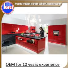 Gabinetes de cocina de laca de alto brillo para la venta (personalizado)