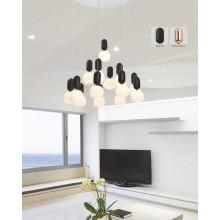 Einfache Art und Weise Dekor LED Pendelleuchte (AD15009-14B)