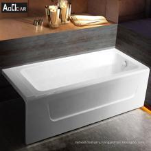 Aokeliya acrylic 150cm small bathtub vintage tub and tile in simple style