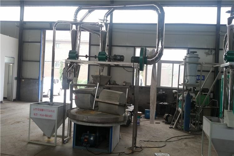 stone flour mill equipment