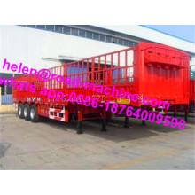 Ejes 13T Semirremolque de transporte de frutas de 60 toneladas