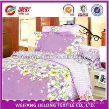 tela impresa de la cama de polialgodón
