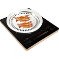 Cocina de inducción eléctrica del control del botón 2000W y del control táctil contra la cocina infrarroja