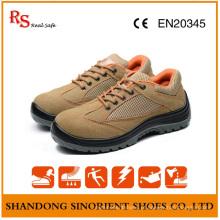 Sapatos De Segurança Desportiva De Couro Suede De Couro RS95