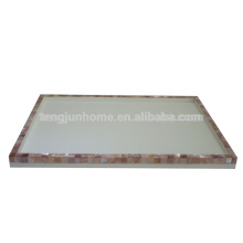 CPN-TYM High Quality Pink Shell Tray for Hotel Amenity