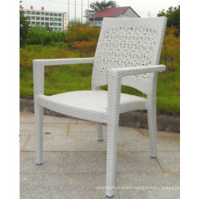 Aluminum Frame Outdoor Patio PE Rattan Chair