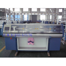 Machine à tricoter automatique du double système 9g avec le dispositif de peigne