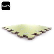 Yellow Flowers Transfer Printing EVA Foam Puzzle Mat