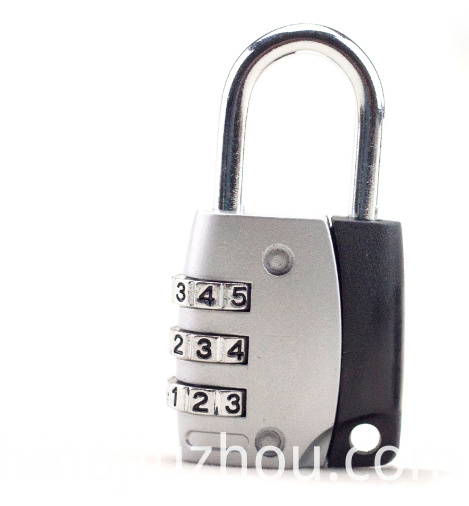 Zinc Alloy Colorful Combination Padlock