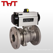 pneumatic actuated stainless steel ball valve manufacturers