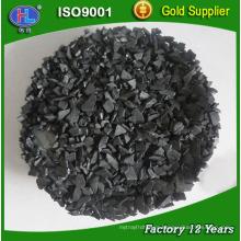 Carbón activo a base de cáscara de coco de la industria del oro