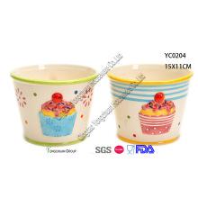 Spring Ceramic Bowls Set for Wholesale