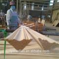 india use wooden recon moulding teak corner ceiling moulding