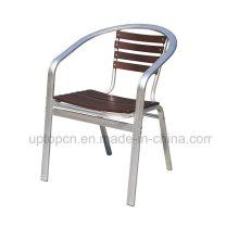 Металлический ресторан стул подлокотник кафе для наружного (СП-OC709)
