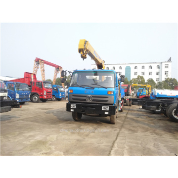 Dongfeng chassis  Telescoping Boom truck mounted crane
