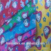 plain weave wholesale 100% cotton/cvc 120gsm white flannel fabric for baby blanket/diaper thailand