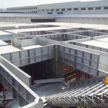 Encofrado de aluminio personalizado para muros de hormigón