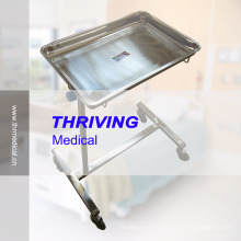 Stainless Steel Medical Mayor Trolley