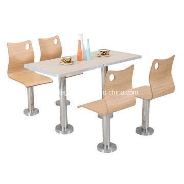 Ensemble de table à manger en bois (FOH-BC04)