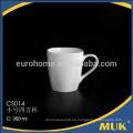 Eurohome hueso taza de té de China tamaño único diseño taza de café y platillo