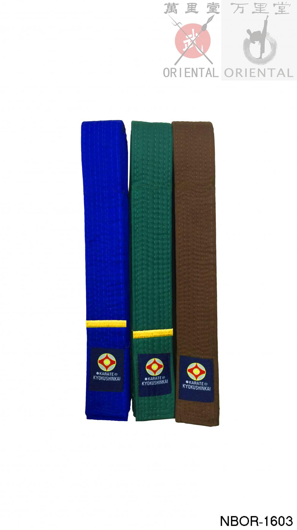 karate color belts