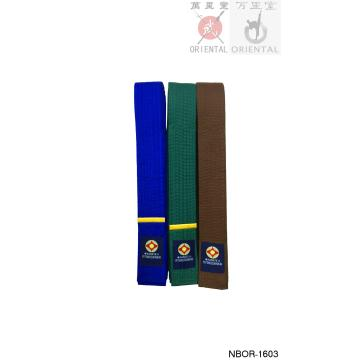 Karate color belts twill fabric