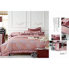 Embroidery Bed Sheet Set Luxury Jacquard Bedding Set