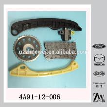 Kit de Cadeia de Tempo de Qualidade Excelente para Mitsubishi 4A90 4A91 4A91-12-006